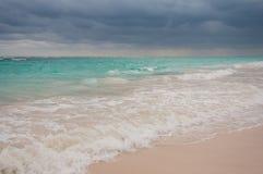 Tempête venant sur Punta Cana Photo libre de droits