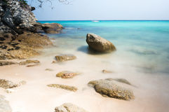Plage de Racha Island, Phuket Image libre de droits