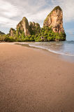 Plage de Railay dans le paradis tropical de Krabi Thaïlande Photos stock