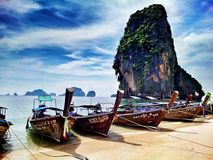Plage de Railay, krabi, Thaïlande photos stock