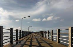 plage de rawai de jetée Photographie stock