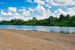 Plage de rivière Image stock