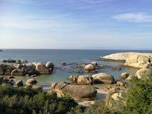 Plage de rochers Image libre de droits