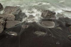 Plage de sable Photographie stock