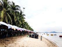Plage de sable photo libre de droits