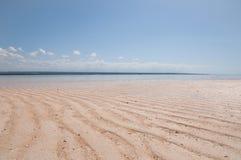 Plage de sable Photographie stock libre de droits