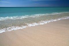 Plage de sable de Caribic Images libres de droits