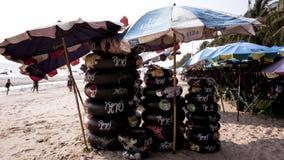 Plage de Saen de coup, Chonburi, Thaïlande Photos libres de droits