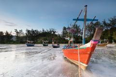 Plage de Samphraya en Thaïlande Photographie stock