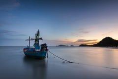 Plage de Samphraya en Thaïlande Photographie stock libre de droits