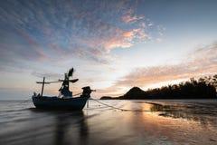 Plage de Samphraya en Thaïlande Images libres de droits