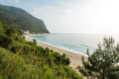 Plage de San Michele horizontale photos stock
