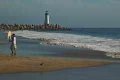 Plage de Santa Cruz Photographie stock libre de droits