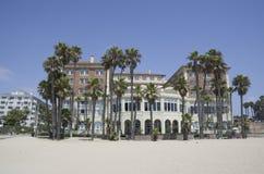 Plage de Santa Monica, Los Angeles, la Californie photos stock