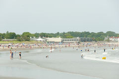 Plage de Scarborough - Narragansett - Rhode Island photographie stock libre de droits