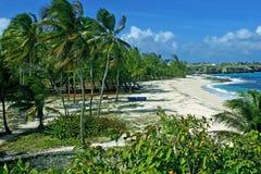 Plage de seigneurs de Sam, Barbade Images libres de droits