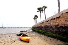 Plage de St Augustine, la Floride photographie stock libre de droits