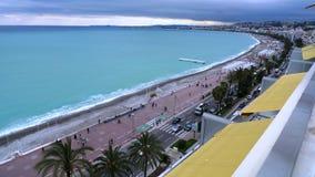 plage de station de vacances de Frances et photo gentilles de littoral Photo stock