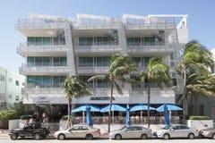Plage de sud d'hôtel d'océan de Z Image libre de droits