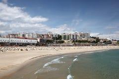 Plage de Tarragona, Espagne Photos stock