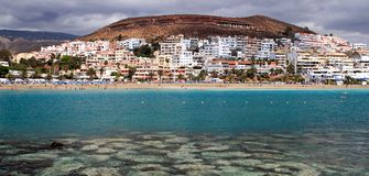 Plage de Tenerife Photo stock