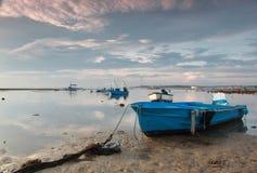 Plage de terbit de Matahari photographie stock libre de droits