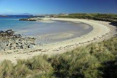 Plage de Torastan, île de Coll Photo libre de droits