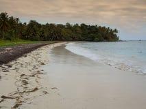 Plage de Tropica Images stock
