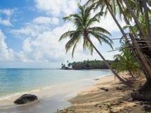 Plage de Tropica Images libres de droits
