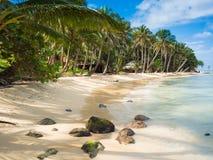 Plage de Tropica photographie stock libre de droits