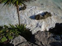 Plage #2 de Tulum Photographie stock