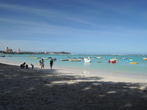 Plage de Tumon en Guam, South Pacific Photographie stock libre de droits
