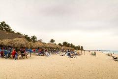 Plage de Varadero au Cuba Image libre de droits