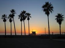 Plage de Venise Image libre de droits