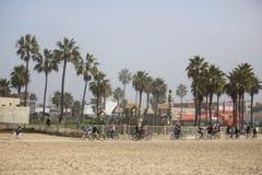 Plage de Venise. Photo libre de droits
