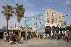 Plage de Venise. Image libre de droits