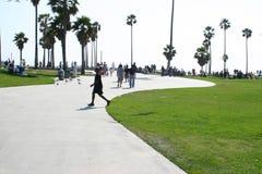 Plage de Venise Images libres de droits