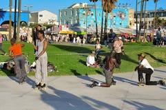 Plage de Venise, Etats-Unis image stock