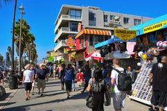 Plage de Venise, Etats-Unis Photographie stock libre de droits