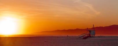 Plage de Venise, Los Angeles photographie stock
