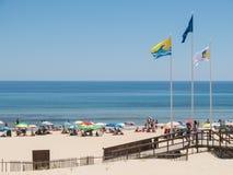 Plage de Verde de Praia, Castro Marim, Algarve, Portugal Photographie stock