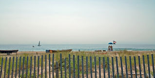 Plage de verger d'océan, New Jersey Etats-Unis Photo stock