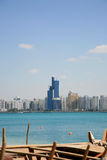 Plage de ville d'Ahu Dhabi Image stock