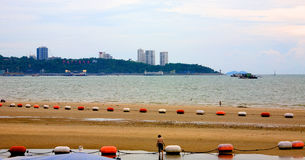 Plage de ville Pattaya thailand Photo stock