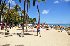 Plage de Waikiki Photo stock