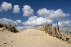 Plage de Walberswick, Suffolk, Angleterre photographie stock libre de droits