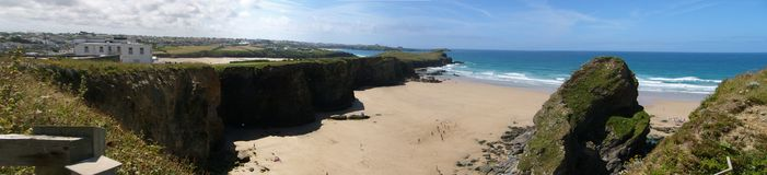 Plage de Whipsiderry Photos libres de droits