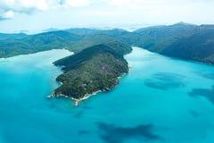 Plage de Whitehaven, Queensland Images libres de droits