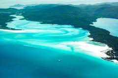 Plage de Whitehaven, Queensland Image libre de droits