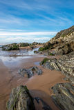 Plage de Woolacombe Photo stock